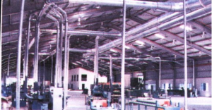 Dust Extraction Ducting Line System
